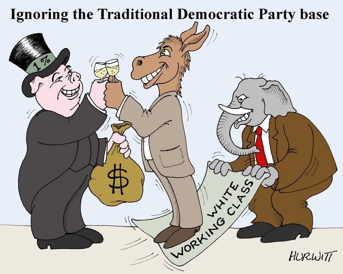 BlackCommentator.com November 11, 2016 - Issue 674: Presidental Election - Political Cartoon By Mark Hurwitt, Brooklyn NY