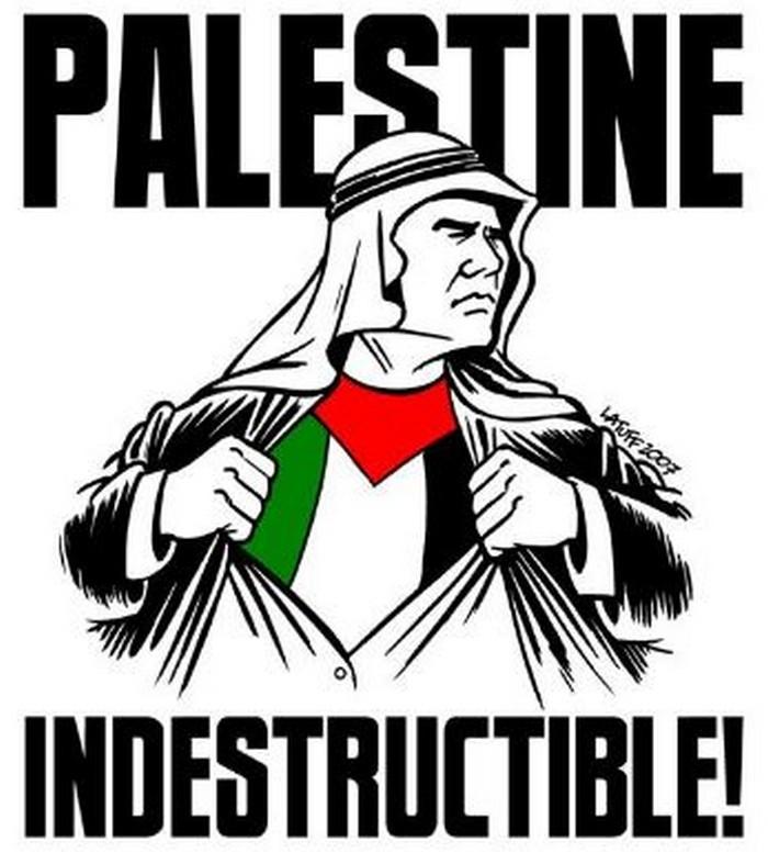 BlackCommentator.com January 12, 2017 - Issue 681: Resistance in Palestine - Political Cartoon By Carlos Latuff, Rio de Janeiro Brazil