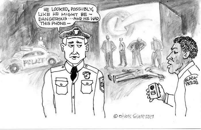 BlackCommentator.com April 13, 2017 - Issue 694: Possibly Dangerous - Political Cartoon By Chuck Siler, Carrollton TX