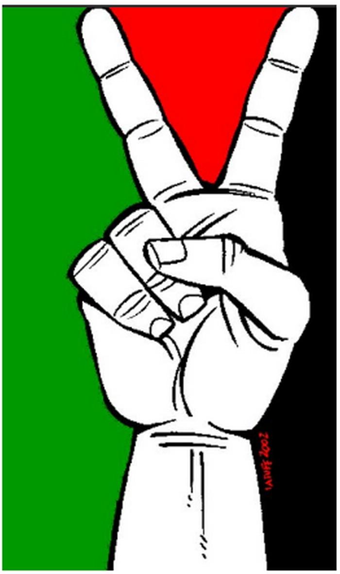 BlackCommentator.com June 01, 2017 - Issue 701: Peace for Palestine - Political Cartoon By Carlos Latuff, Rio de Janeiro Brazil