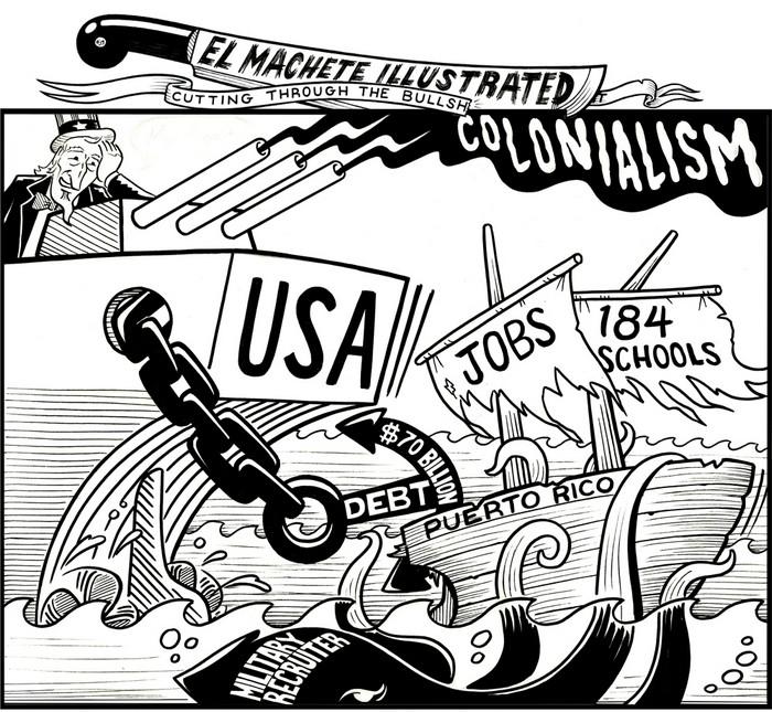 BlackCommentator.com June 22, 2017 - Issue 704: Public Relations - Political Cartoon By Eric Garcia, Chicago IL