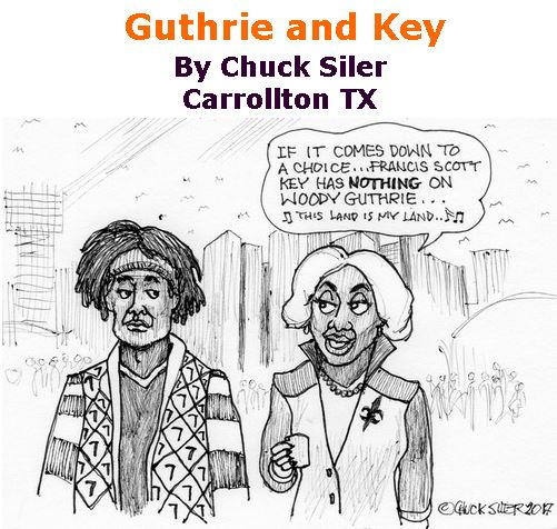 BlackCommentator.com November 02, 2017 - Issue 716: Guthrie and Key - Political Cartoon By Chuck Siler, Carrollton TX