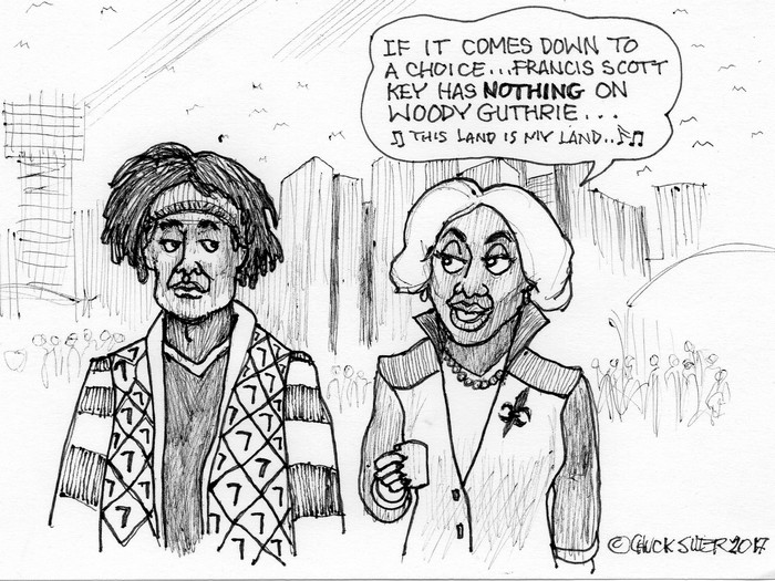 BlackCommentator.com November 02, 2017 - Issue 716: Guthrie and Key - Political Cartoon By Chuck Siler, Carrollton TX