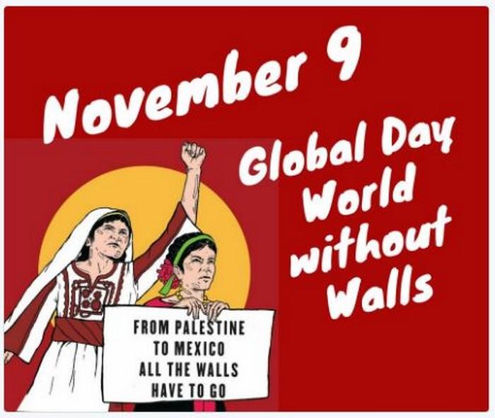 BlackCommentator.com November 09, 2017 - Issue 717: Stop the Wall - Political Cartoon By Carlos Latuff, Rio de Janeiro Brazil