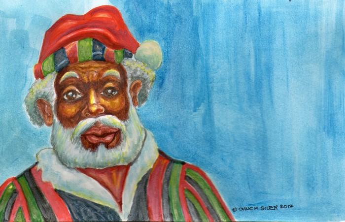 BlackCommentator.com December 14, 2017 - Issue 722: Baba Kwanzaa - Political Cartoon By Chuck Siler, Carrollton TX