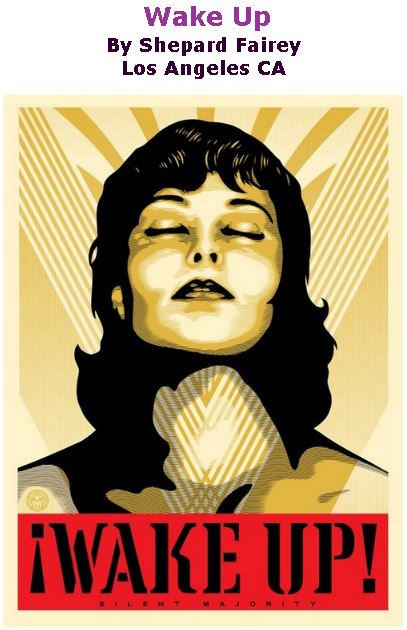 BlackCommentator.com January 25, 2018 - Issue 726: Wake Up - Art By Shepard Fairey, Los Angeles CA