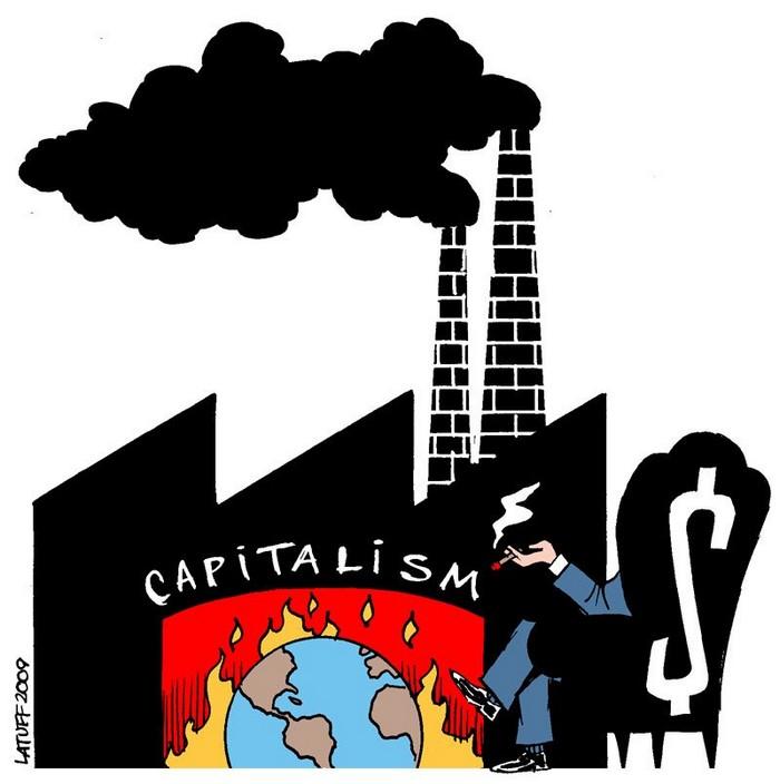 BlackCommentator.com February 08, 2018 - Issue 728: Capitalism - Political Cartoon By Carlos Latuff, Rio de Janeiro Brazil