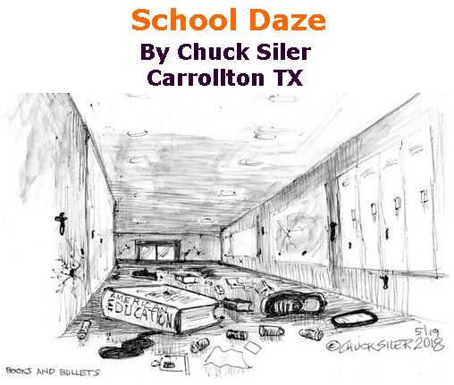 BlackCommentator.com May 24, 2018 - Issue 743: School Daze - Political Cartoon By Chuck Siler, Carrollton TX