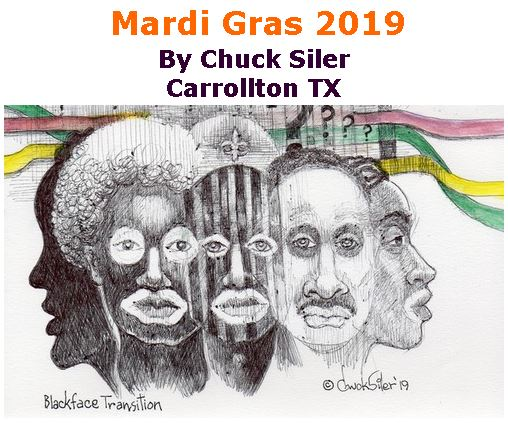 BlackCommentator.com March 07, 2019 - Issue 779: Mardi Gras 2019 - Political Cartoon By Chuck Siler, Carrollton TX