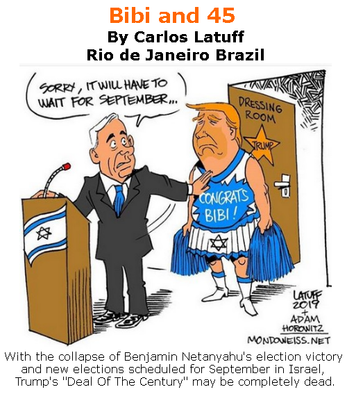 BlackCommentator.com June 06, 2019 - Issue 792:  - Political Cartoon By Carlos Latuff, Rio de Janeiro Brazil