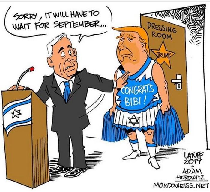 BlackCommentator.com June 06, 2019 - Issue 792:  - Political Cartoon By Carlos Latuff, Rio de Janeiro Brazil