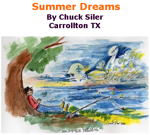 BlackCommentator.com July 25, 2019 - Issue 799: Summer Dreams - Political Cartoon By Chuck Siler, Carrollton TX