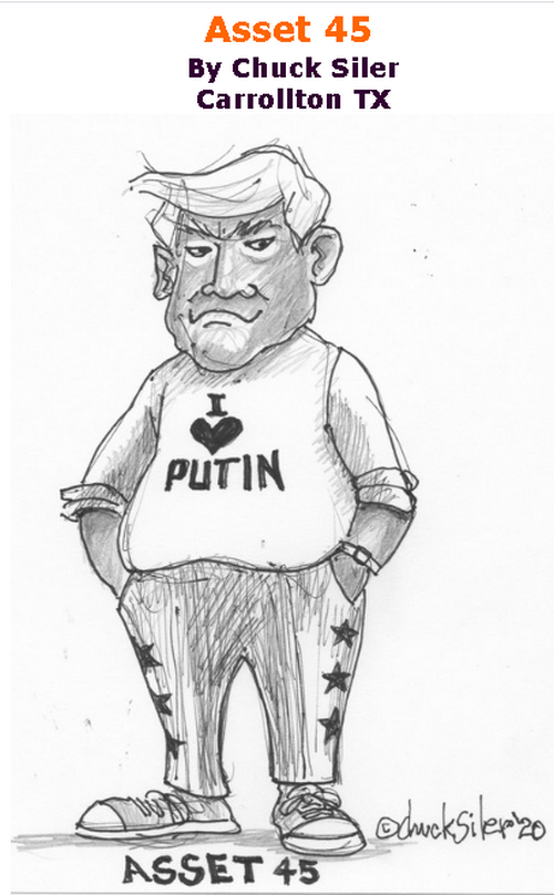 BlackCommentator.com Sept 10, 2020 - Issue 832: Asset 45 - Political Cartoon By Chuck Siler, Carrollton TX