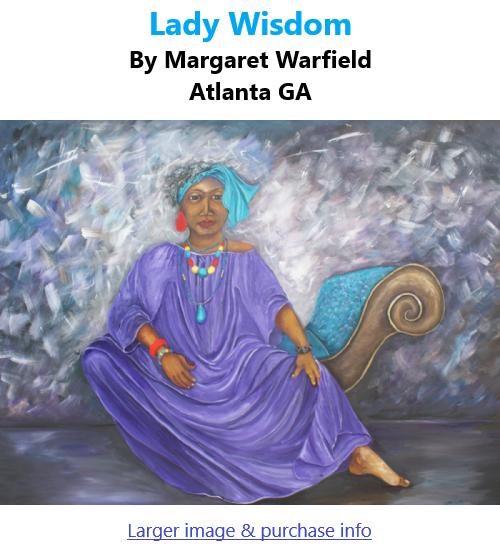 BlackCommentator.com Mar 4, 2021 - Issue 855: Lady Wisdom - Art By Margaret Warfield, Atlanta GA